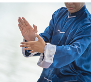 image of person doing Tai Chi