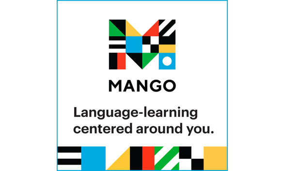 bring colored logo for Mango learning app
