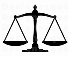 icon of the scales of justice