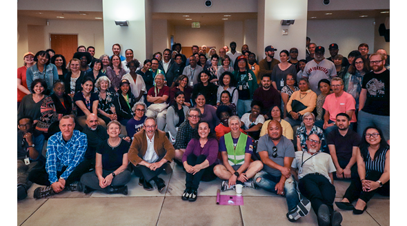 group picture of Berkeley Public Library staff