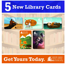 5 New Library Cards