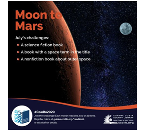 Read to 2020 Moon to Mars