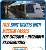 Discover and Go free BART tickets