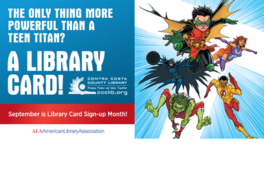 Sign up for a Library card