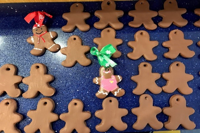 Gingerbread Cookie oranaments