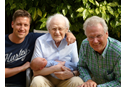 4 men representing 4 generations of a family