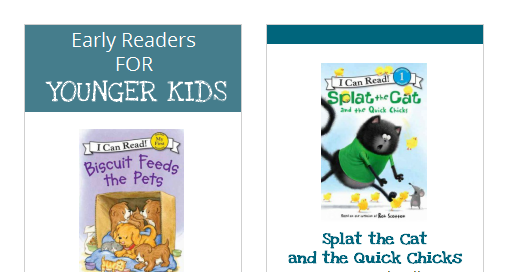 Early Reader bookmark