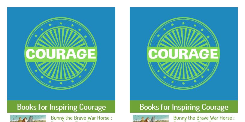 printable courage bookmark