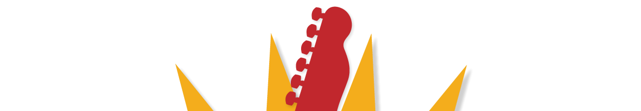 image of guitar and book