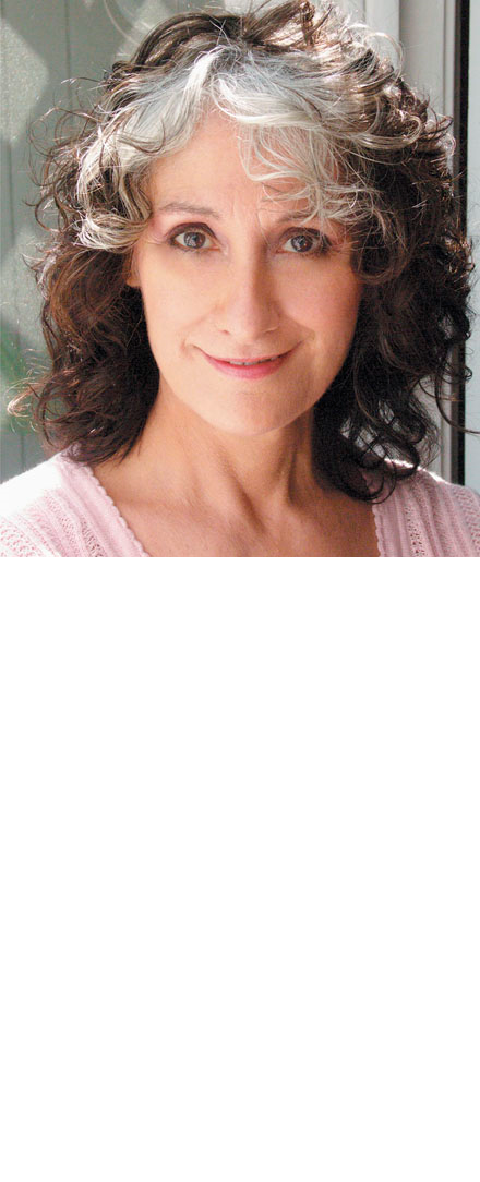 Head shot of actress Kres Mersky