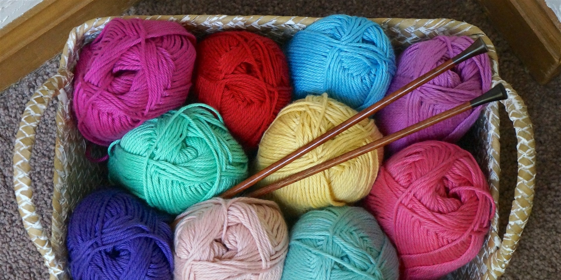 Knitting and yarn