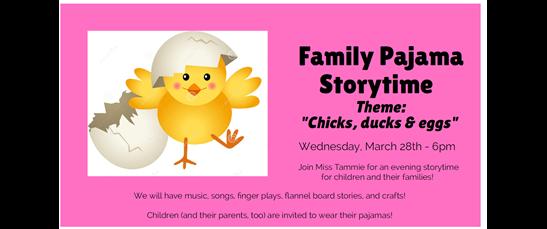 LibraryAware Storytime Corner April 3 - April 7