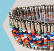 Crafternoon: Beaded Safety Pins