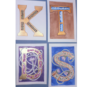 Crafternoon: Illuminated Letters