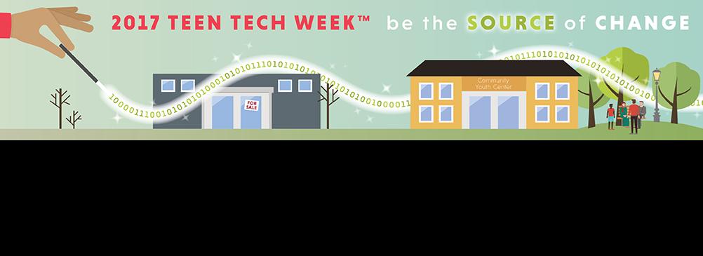 2017 Teen Tech Week Logo