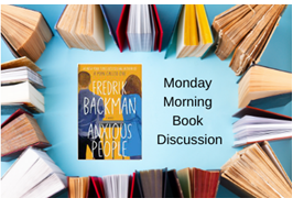 Morning book discussion logo