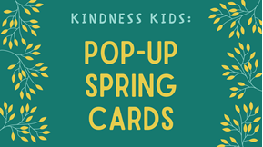 Pop-up Spring Card graphic