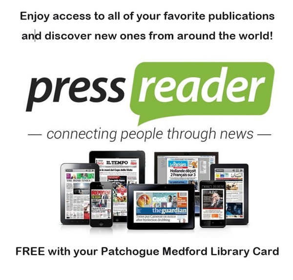 Pressreader: Online newspapers from around the world, free with your library card.