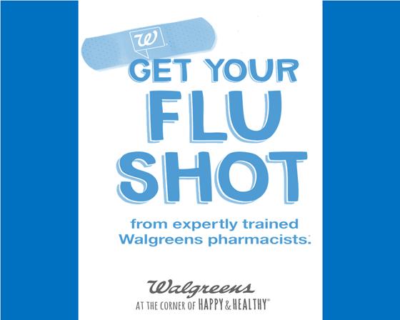 A list of locations to get the cheapest or free flu shots in Includes flu locator & costs of flu shots at WalMart, Costco, CVS, Walgreens, Kroger, Target, Sam's Club, RiteAid, & Meijer.
