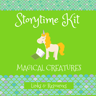 storytime kit themed magical creatures
