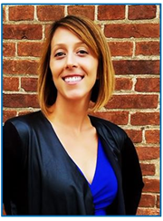 Photo of library director Abby Cooley