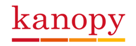 Color logo of Kanopy
