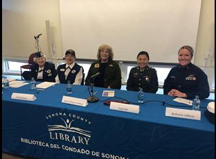Panelists Women Veterans Then and Now