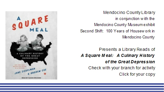 Square Meal - Mendocino County Library Reads for April and May