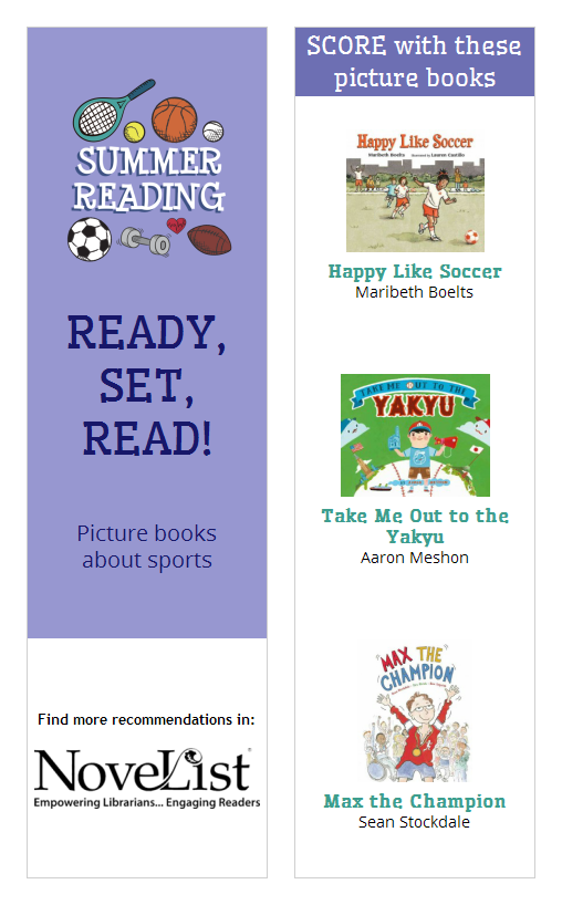 Picture books about sports