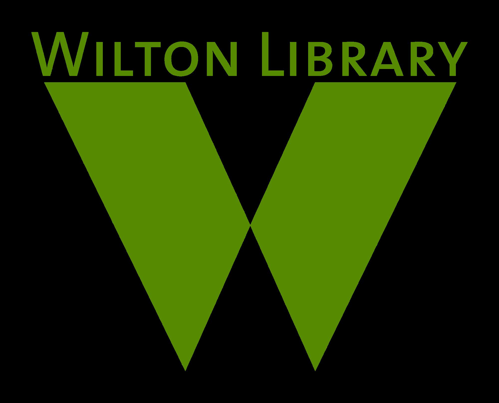 Wilton Library logo