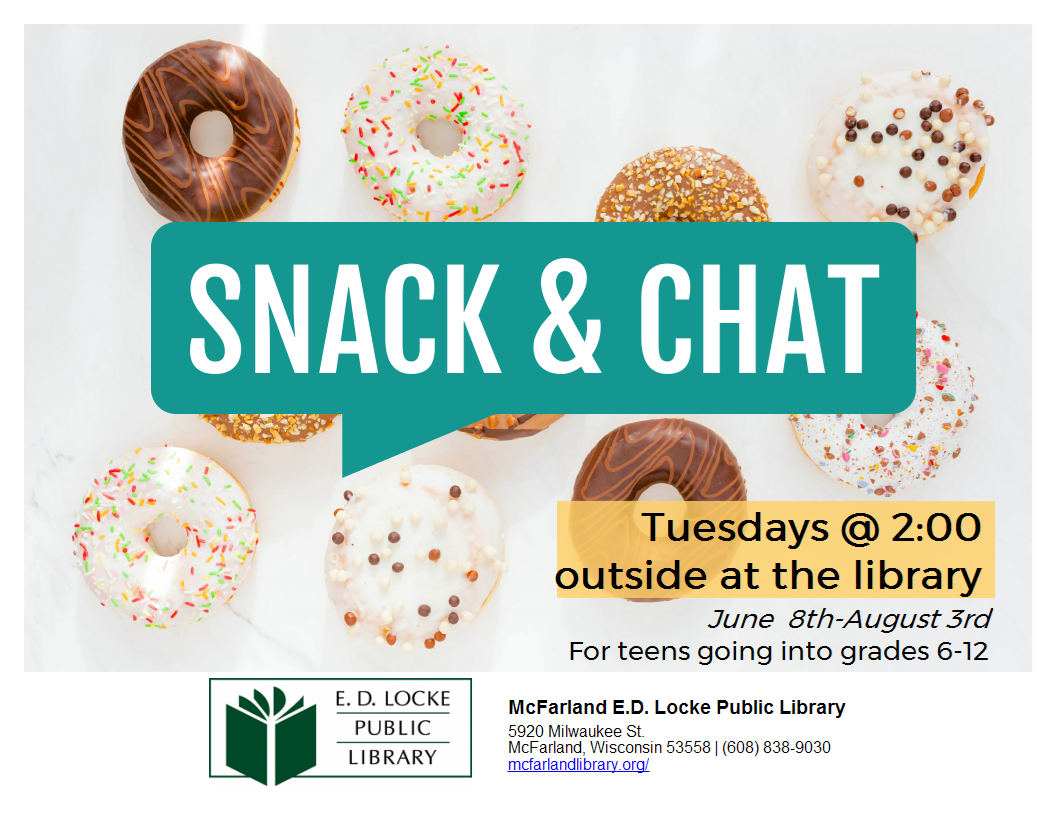 Teen Snack and Chat