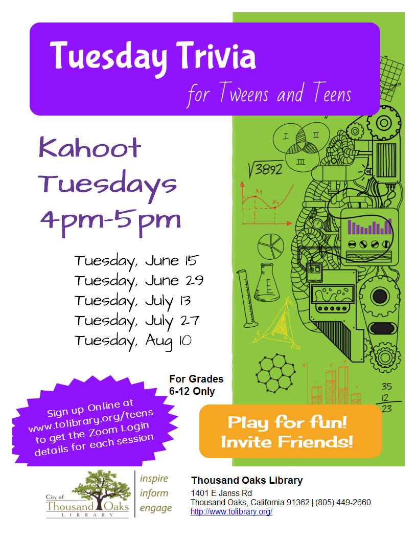 Kahoot Trivia Tuesday - THROWBACK TRIVIA