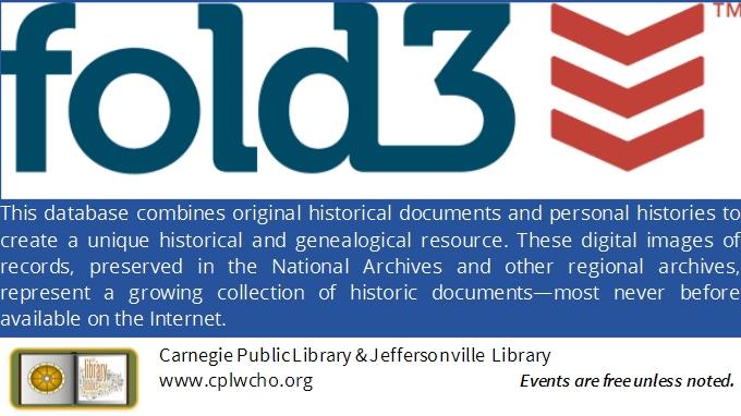 Genealogy | Carnegie Public Library - Washington Courthouse, Ohio